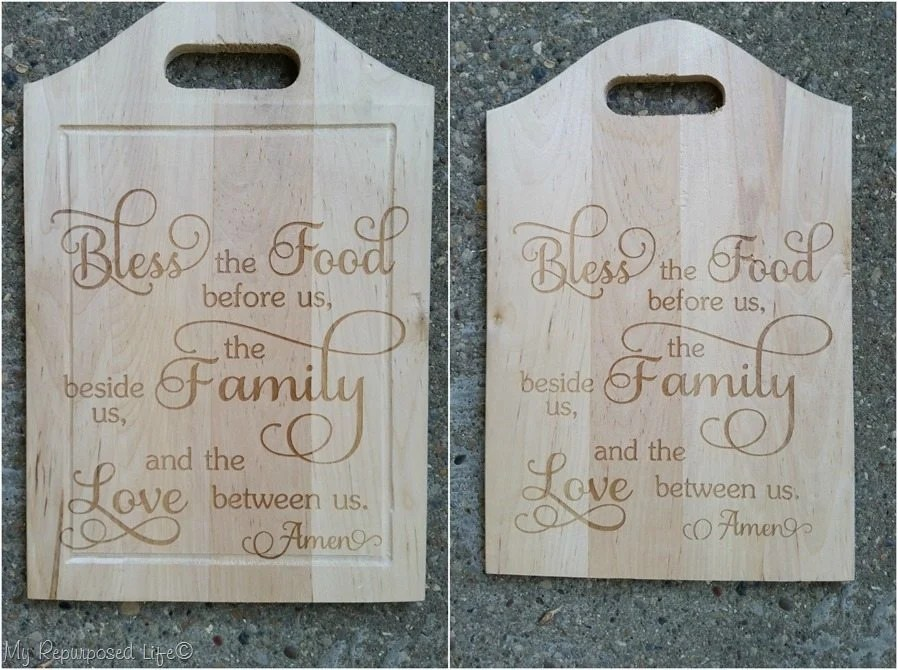 laser cut cheap cutting board