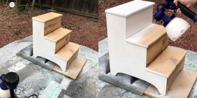 painting step stool