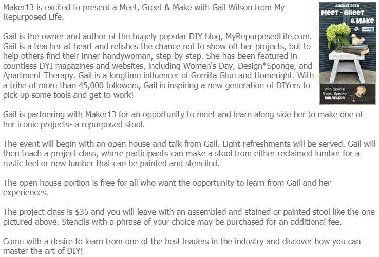 Gail Wilson Maker 13
