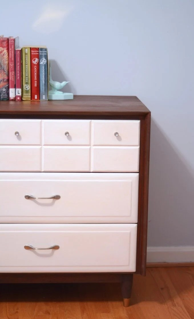 Mid-Century-Modern-Dresser-Makeover-Thrift-Diving