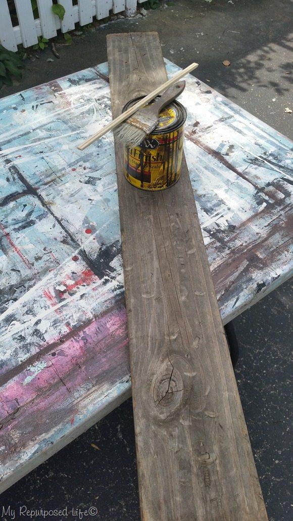 jacobean stain rustic vertical coat rack