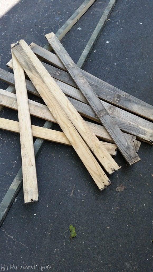 bench slats