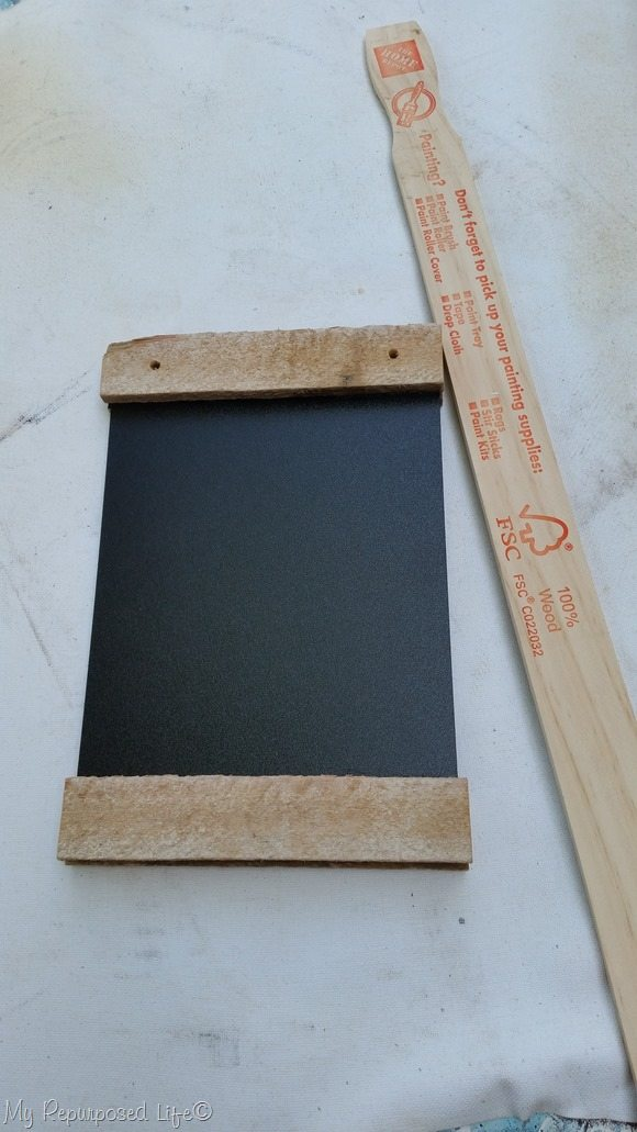 cheap chalkboard project paint sticks
