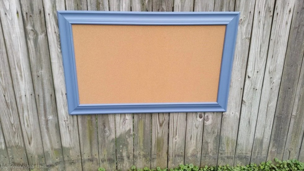 extra large cork board picture frame