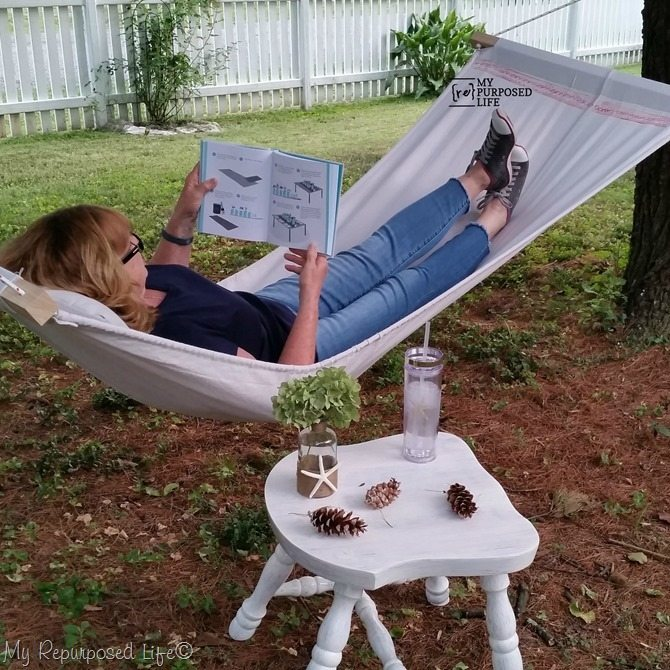 how to drop cloth hammock