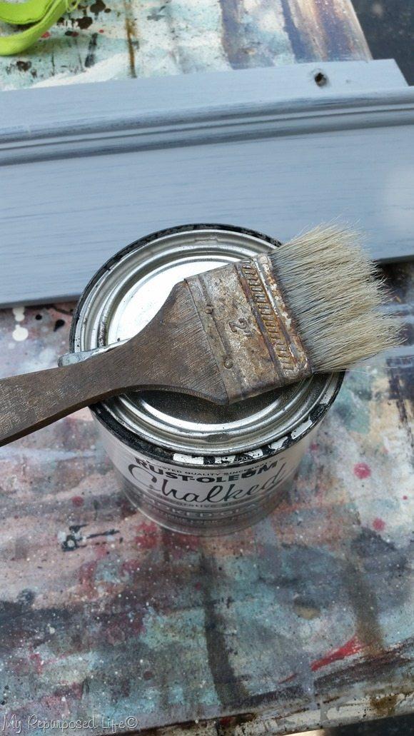 rustoleum chalked glaze