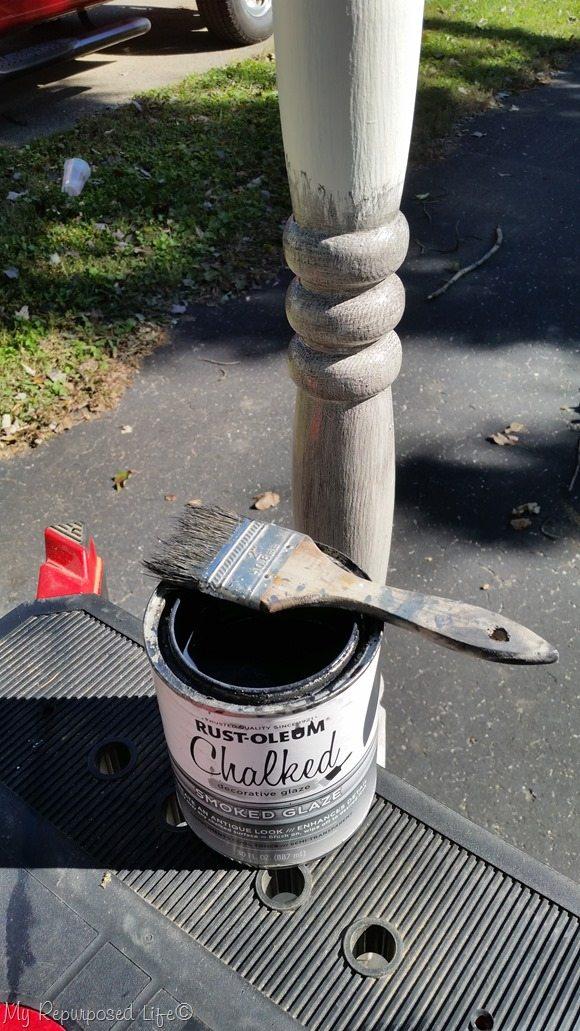 rustoleum smoked gray glaze