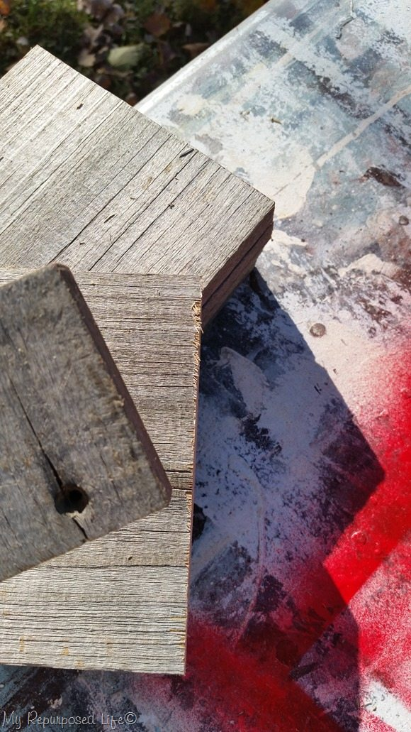 how to sand rough rustic reclaimed wood