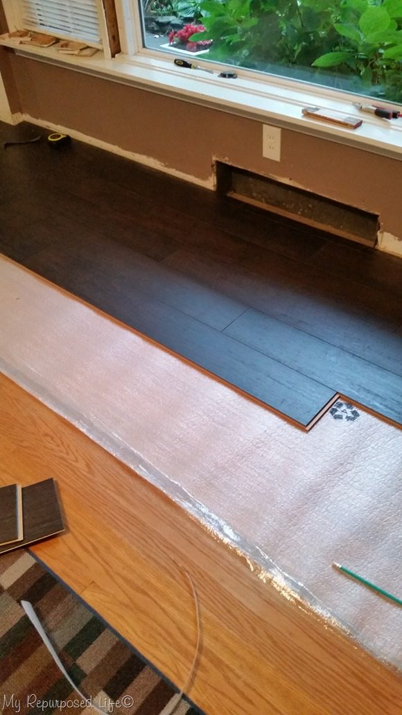 remove baseboard and heat vents