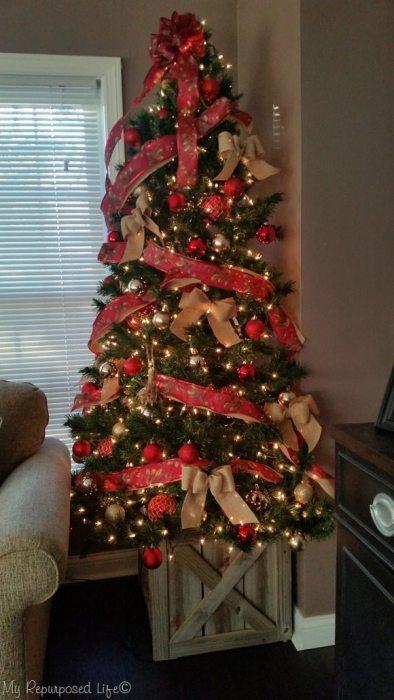 Christmas Tree Stand Box | Folds Flat for Storage - My ...