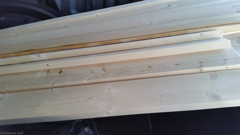 lumber for craftsman style door trim