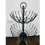Repurposed Lamp Necklace Holder
