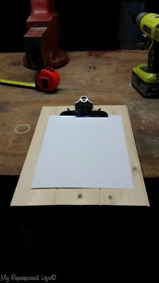 bead board clip board