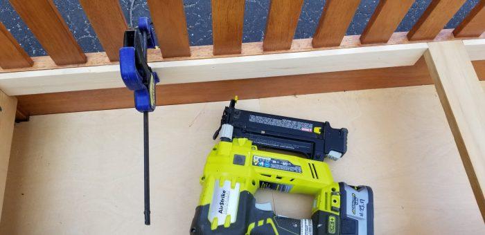 filler board for hinges