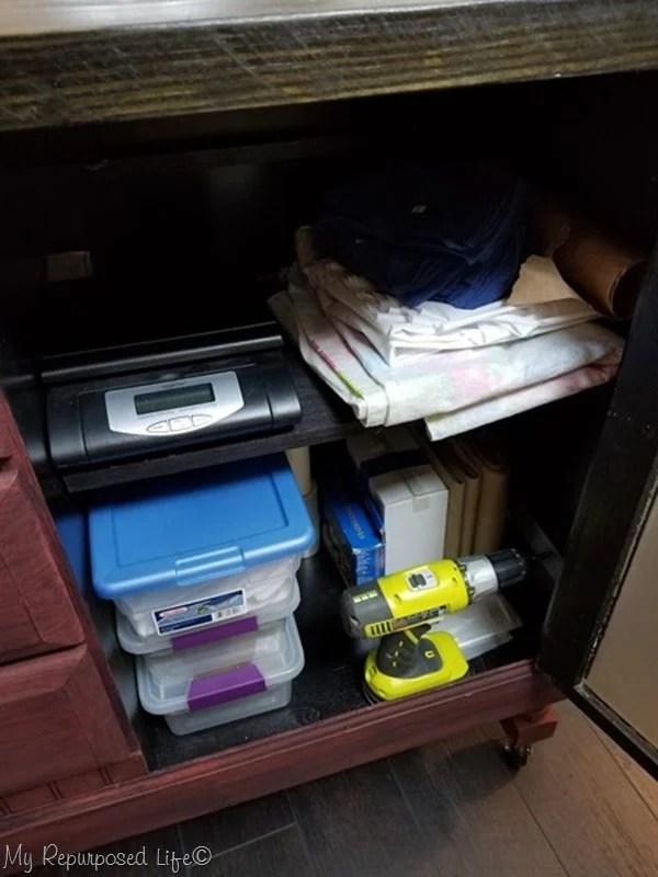 diy storage in the kitchen