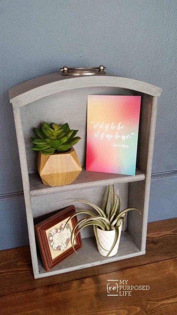 small-vintage-dresser-drawer-shelf-MyRepurposedLife
