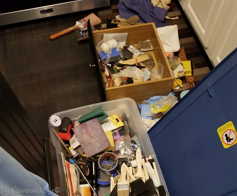 tips to clean out messy drawers