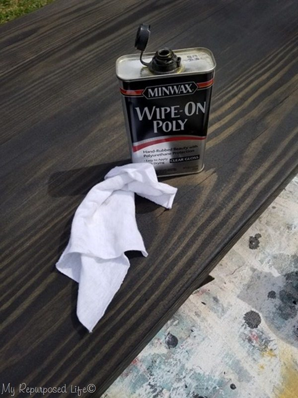 wipe on poly kitchen island table top[3]