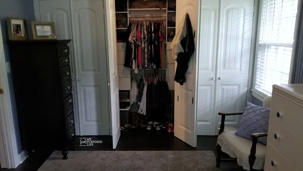 master bedroom closet diy MyRepurposedLife.com