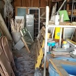 Storing Reclaimed Lumber | The Woodshed