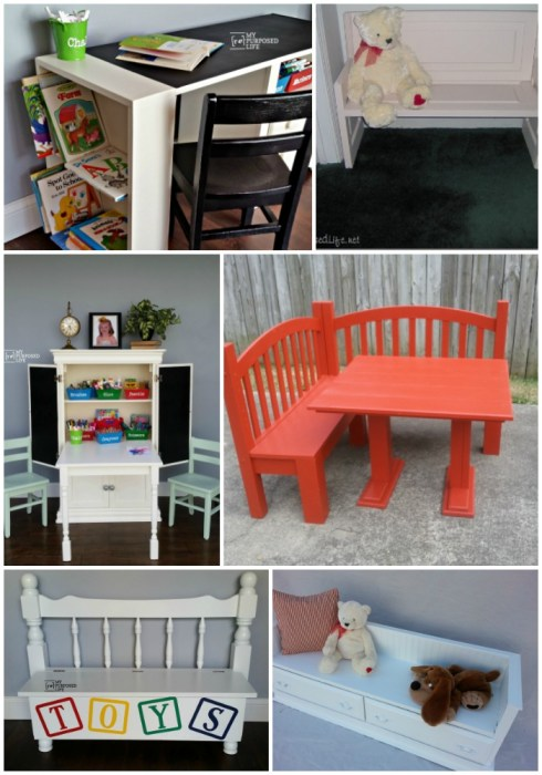 repurpose furniture projects for kids