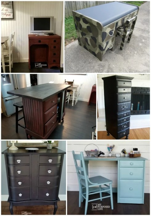 new uses for old desks