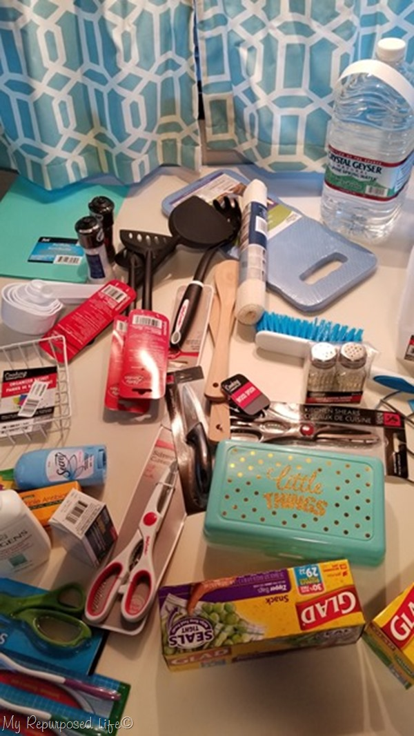 dollar tree haul to set up new camper