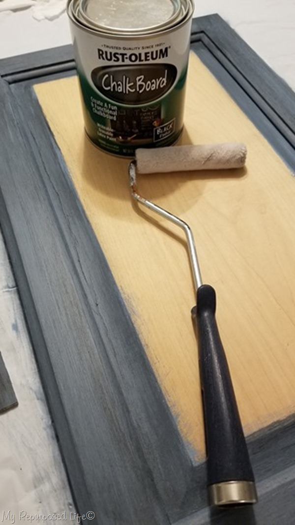 chalkboard paint small roller