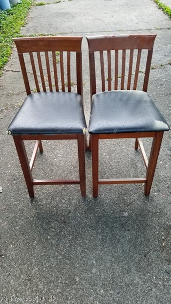free set of bar stools