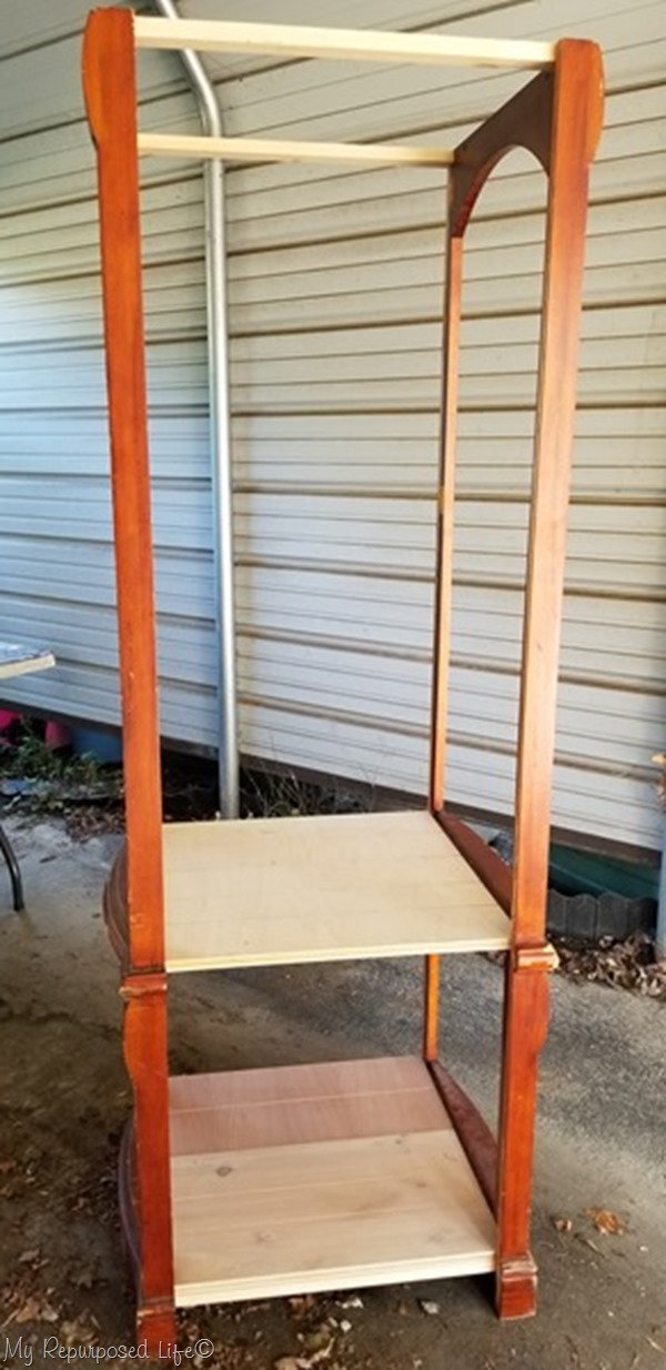 how to build a bookcase out of armoire doors