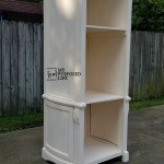 Reclaimed Armoire Door Book Shelf