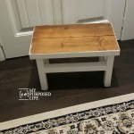 How To Make Oversized Stepstool