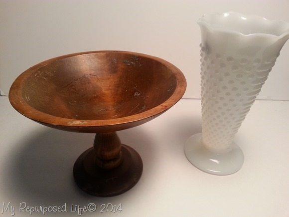 wood-pedestal-milk-glass