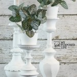 repurposed lamp plant stands