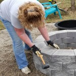DIY fire pit and more on my Outdoor Overhaul
