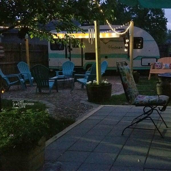 camper retreat at dusk MyRepurposedLife