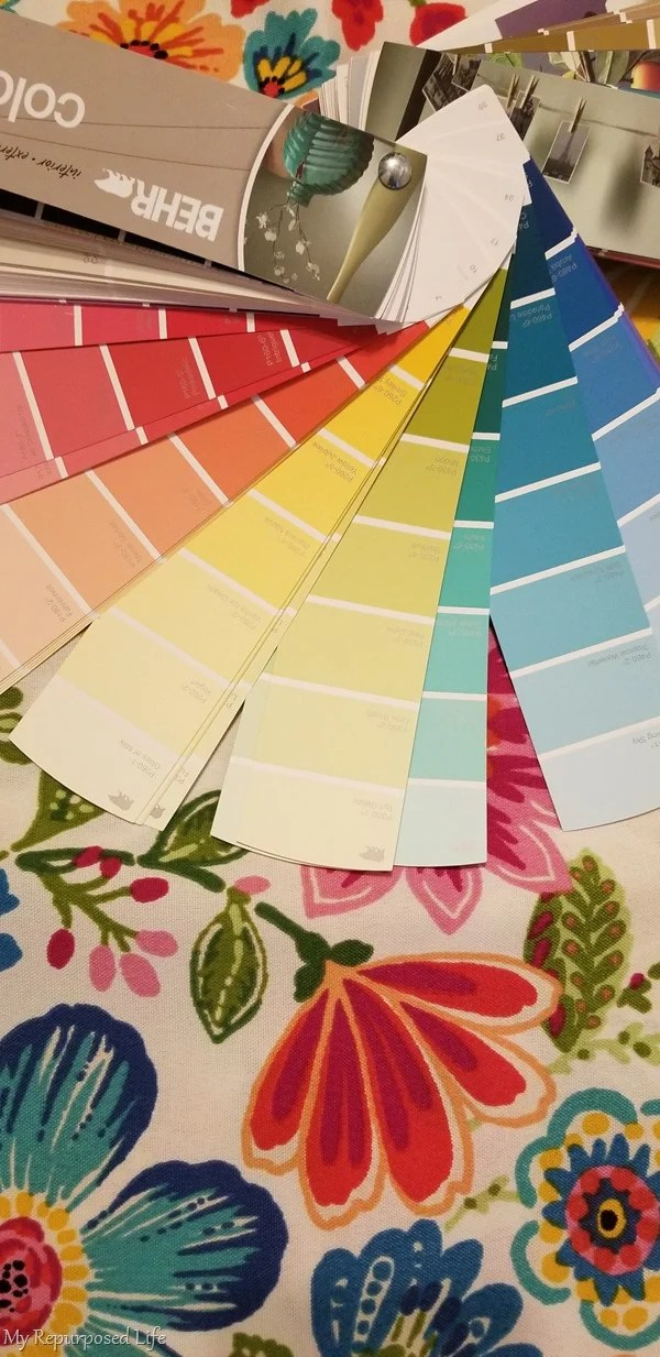 colorful outdoor fabric