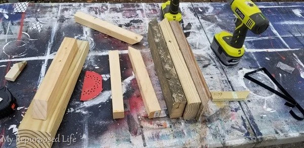 scrap wood for easy project