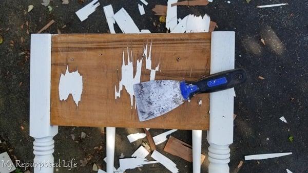remove bad veneer
