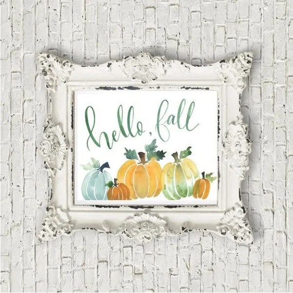 Watercolor-Fall-Pumpkin-Printable