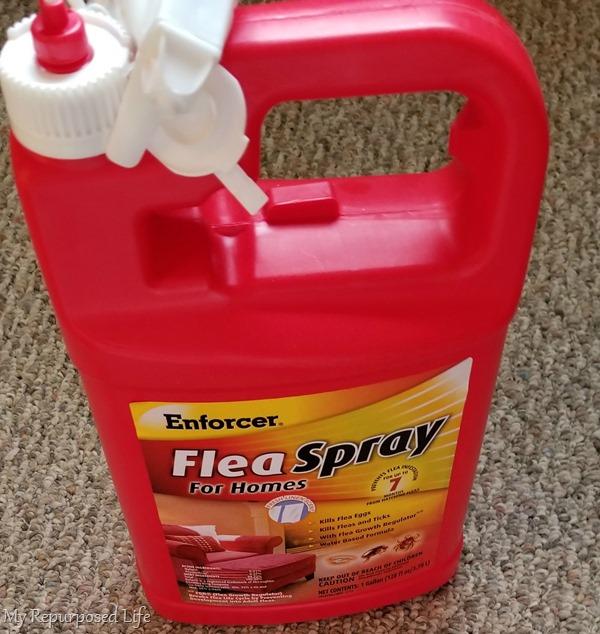 enforcer flea spray for homes