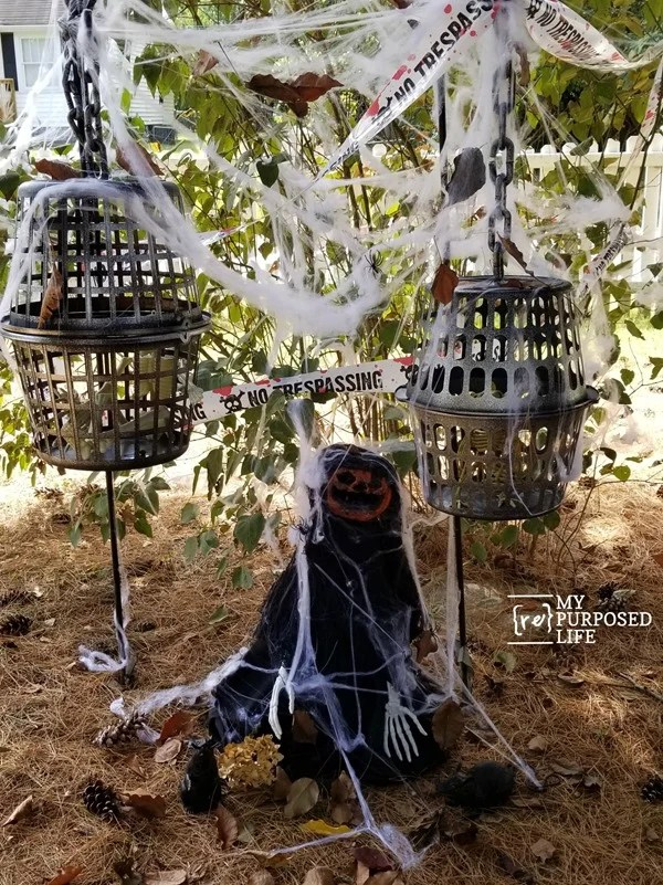 halloween decor using dollar store items MyRepurposedLife