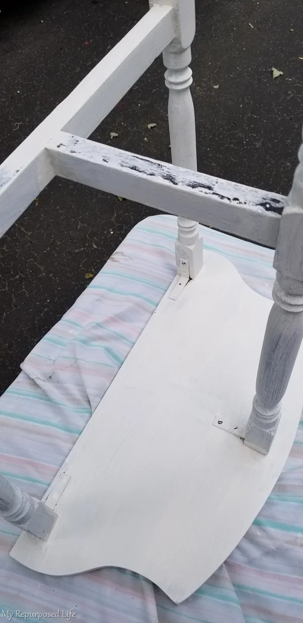 paint underside of table