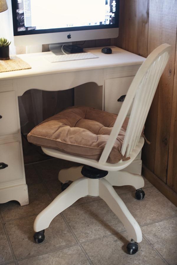 vintage desk farmhouse makeover