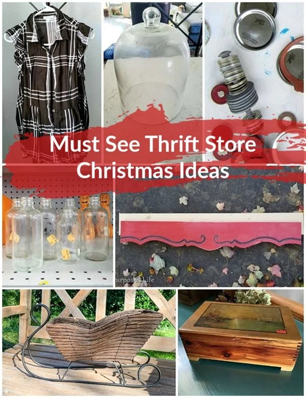 must see thrift store Christmas ideas