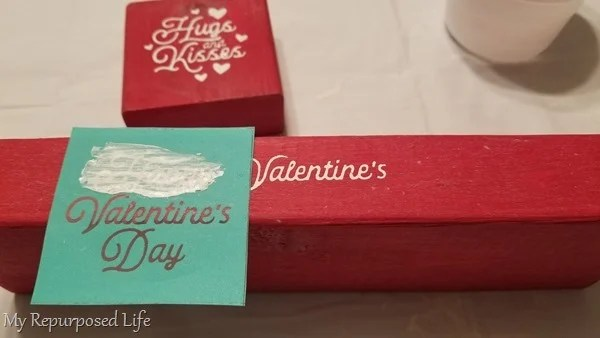 small valentine transfer from chalk couture