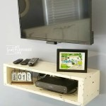 Farmhouse Floating Shelf for Under T.V.
