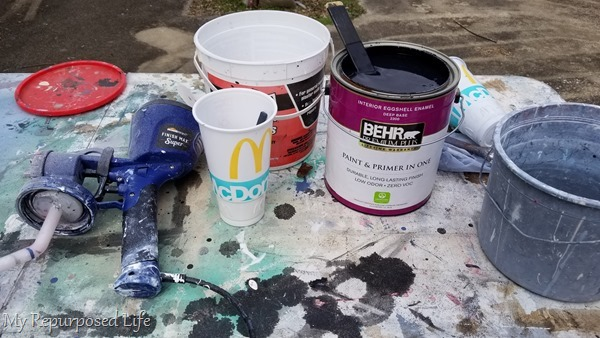 mix chalky paint primer
