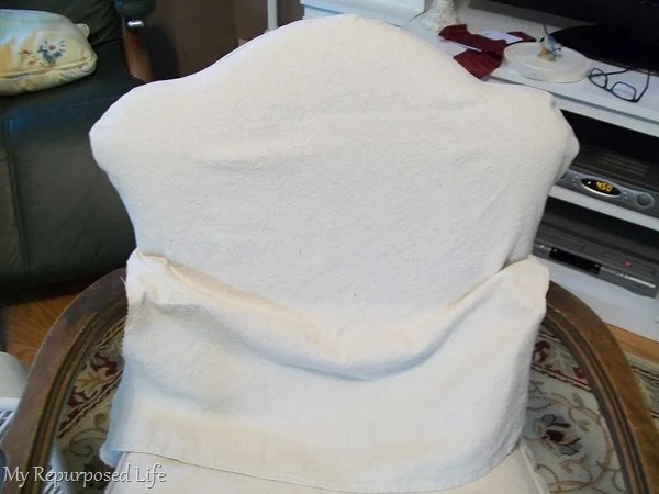 easy slipcover for back of chair