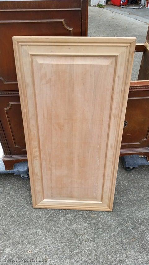 cabinet door as top